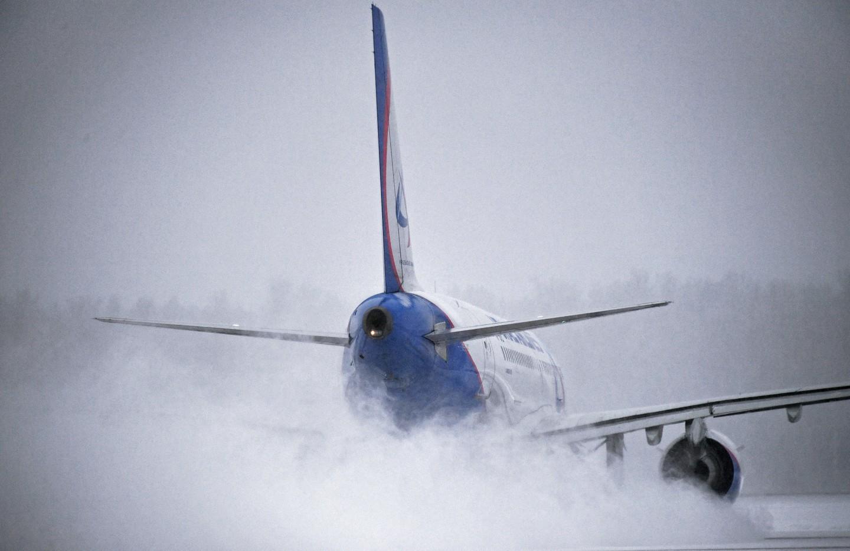 Пассажирский лайнер вернулся во«Внуково» из-за плохой погоды вКалининграде