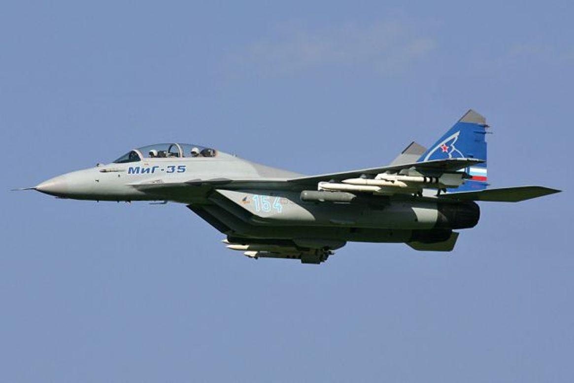 Тестирования нового истребителя МиГ-35 начнутся всередине зимы
