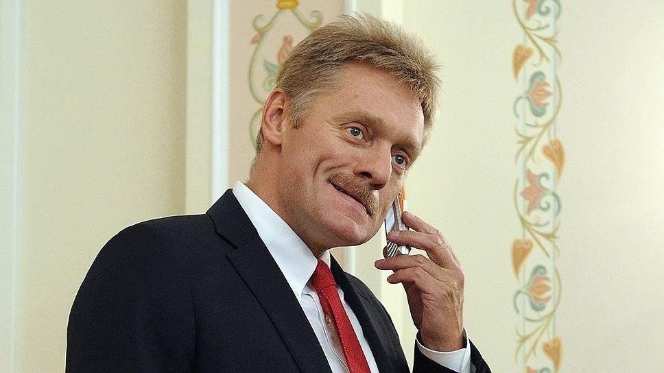 Песков: Украина сама отказывается отДонбасса, устроив блокаду