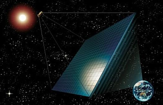 Русские ученые предлагают сделать солнечную электростанцию наорбите