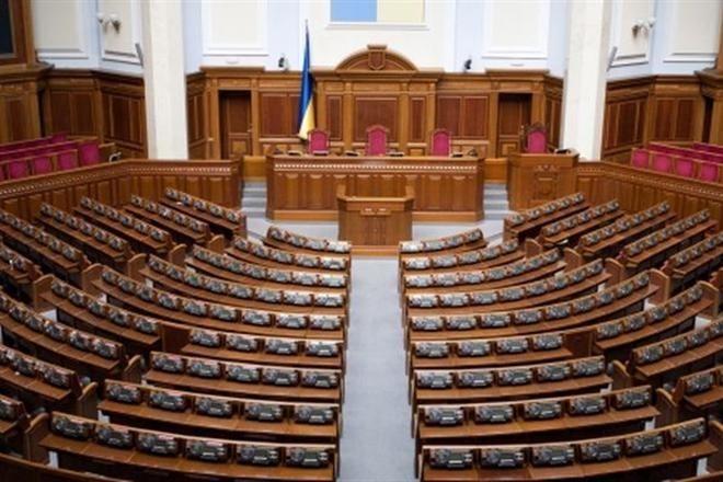 Совещание Верховной рады закрылось сразу после начала из-за недостатка депутатов