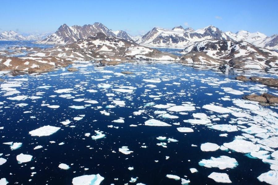 Ученые: вАрктике из-за изменений климата появился новый остров