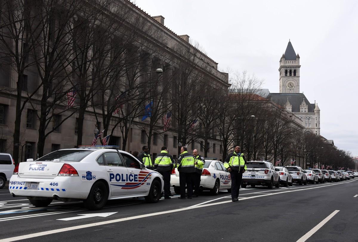 Впроцессе беспорядков вВашингтоне был схвачен русский корреспондент