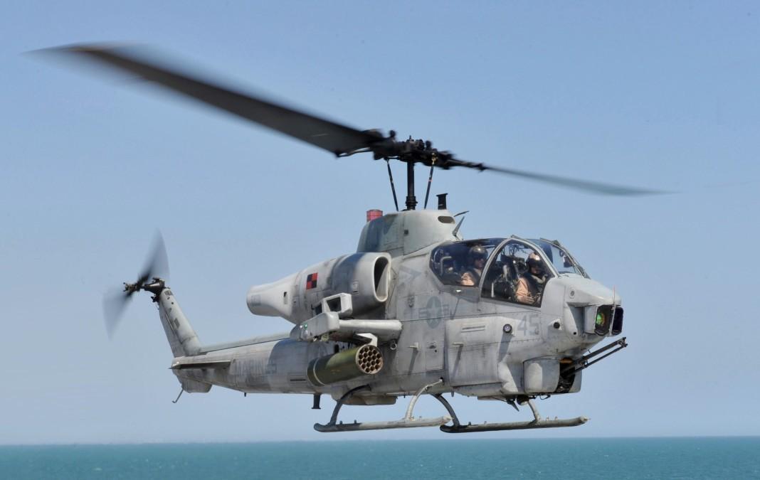 Япония выразила протест США из-за экстренной посадки военного вертолета