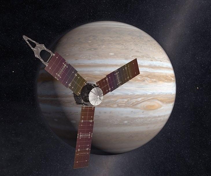 NASA проводит конкурс повыбору ракурса съемки Юпитера изкосмоса