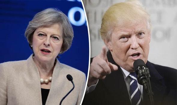 Дональд Трамп планирует 27января увидеться сбританский премьером Терезой Мэй