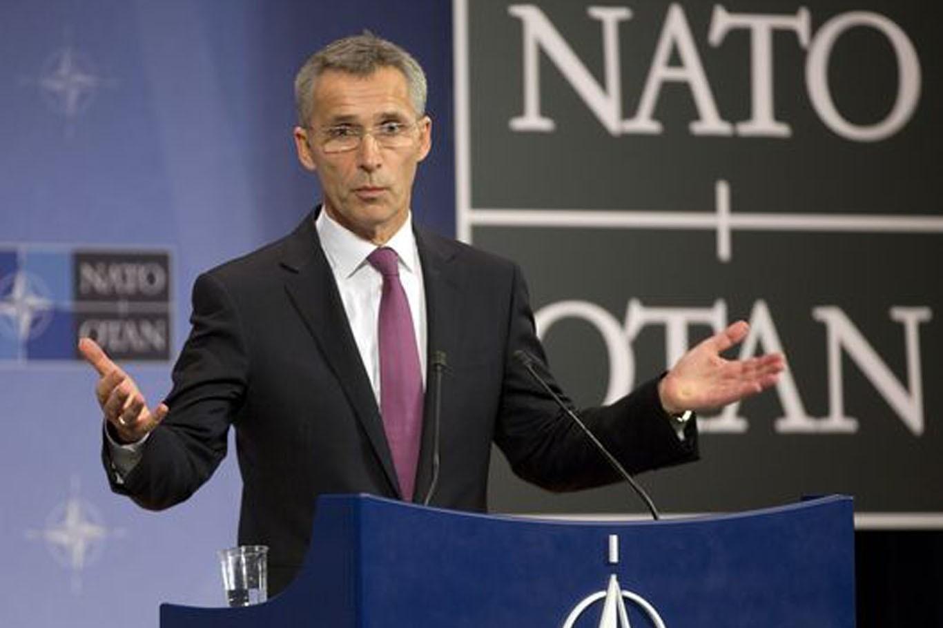 НАТО нерассматривает вопрос присоединения Украинского государства кальянсу