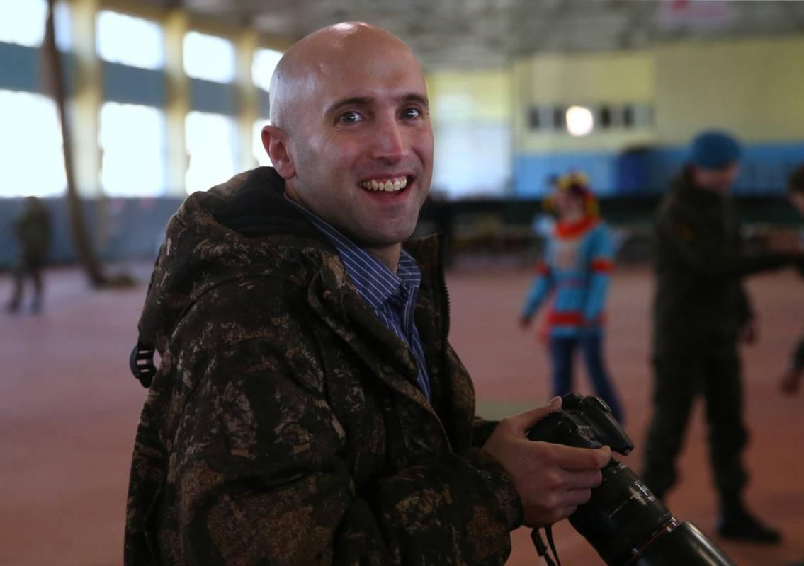 Репортера Грэма Филлипса выдворили изпарламента завопрос обУкраине