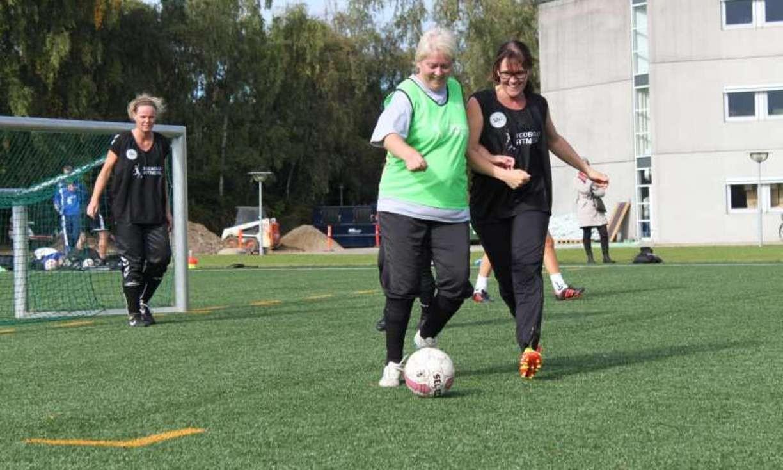 Футбол помогает от высочайшего давления— мед. сотрудники