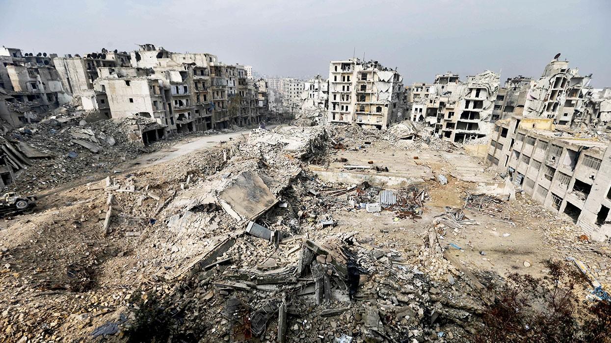 Впровинции Дамаск боевики сложили оружие