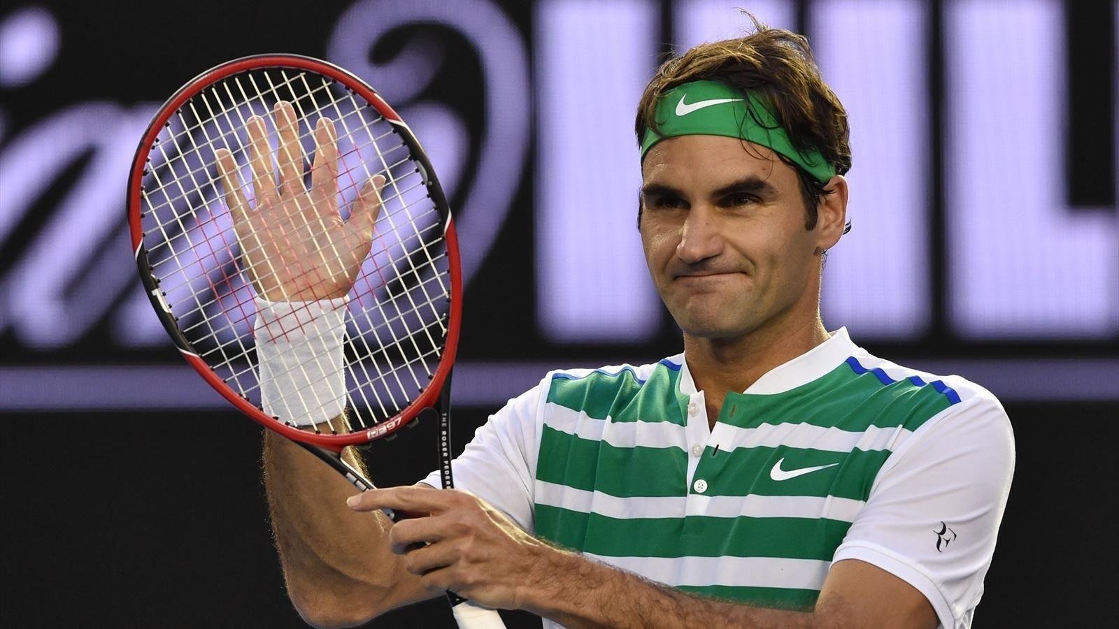 Федерер в 5-ти партиях обыграл Вавринку ивышел вфиналАО