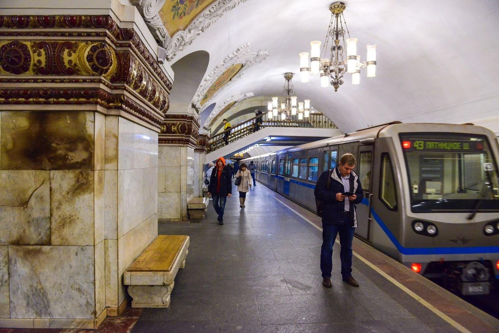Столичное метро опровергло планы закрывать станции вчасы пик