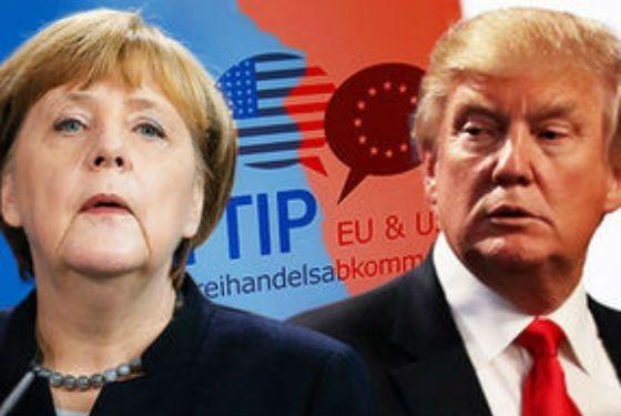 Меркель иТрамп обсудят Российскую Федерацию и Украинское государство