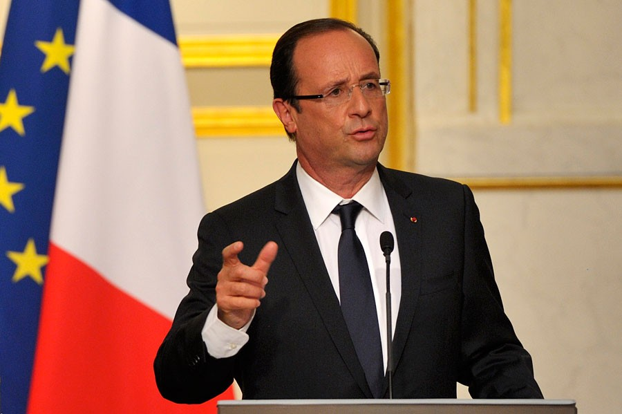 Олланд объявил  Трампу онеобходимости строить разговор  сРФ повсем задачам