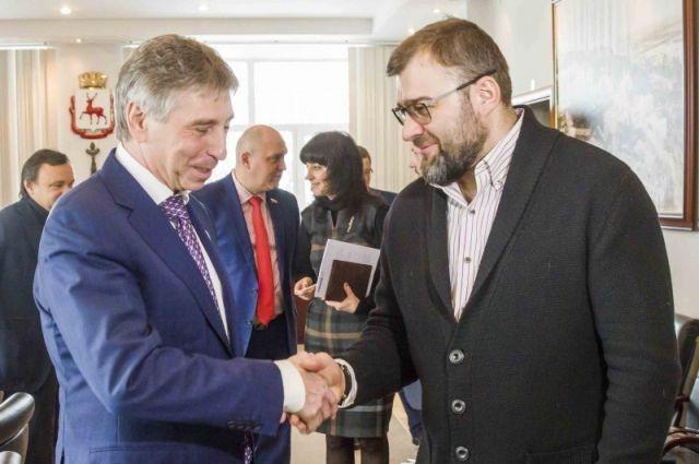 Пореченков предложил в Нижнем Новгороде провести фестиваль кино
