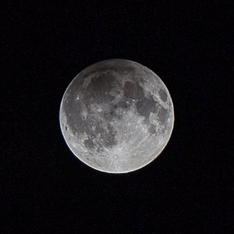 Москвичи смогут наблюдать полутеневое лунное затмение 11 февраля