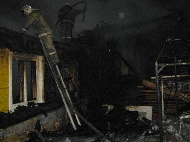 Несколько человек пострадали напожаре вРаменском районе
