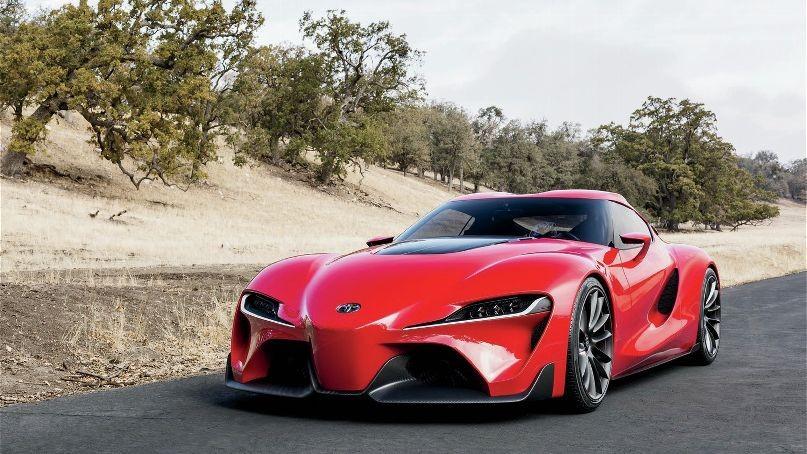 Тойота Supra обновленного поколения замечена назимних тестах