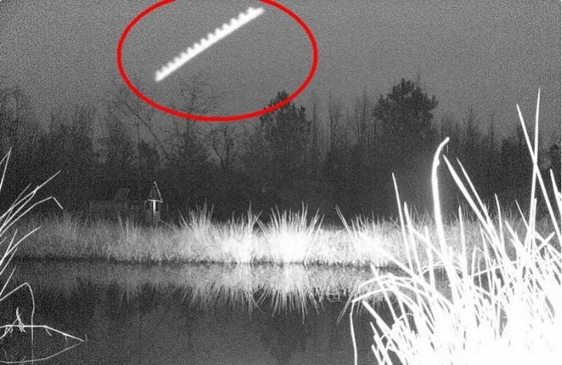 ВДжексонвилле увидели НЛО странной пилообразной формы