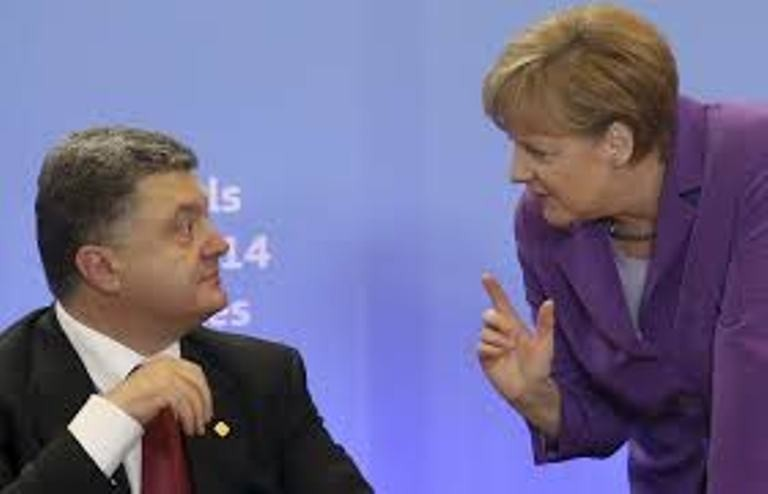 Порошенко прибыл вГерманию для встречи сМеркель