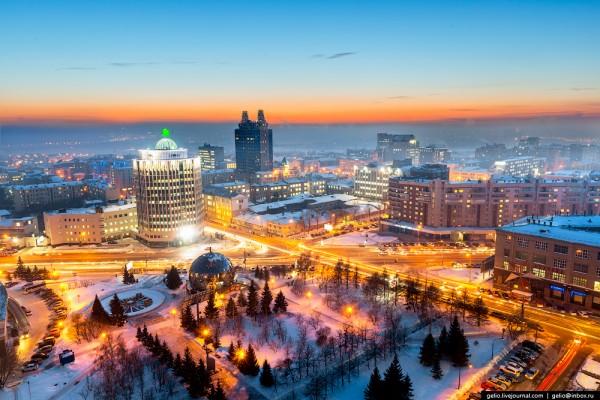 Новосибирск - научный, деловой и культурный центр Сибири