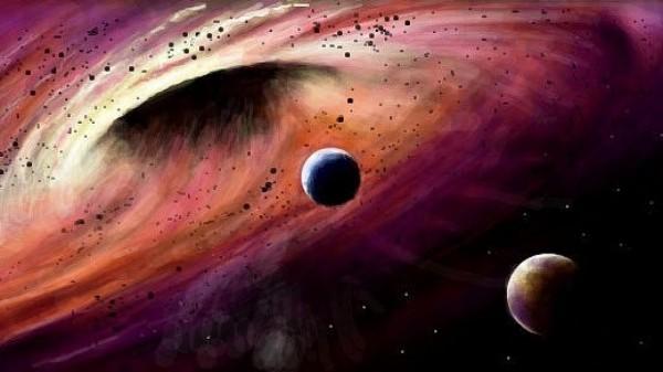Световые шоу от чёрных дыр могут навредить Земле