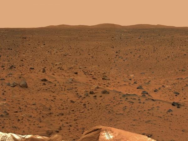 Учёные не нашли следов жидкой воды на поверхности Марса