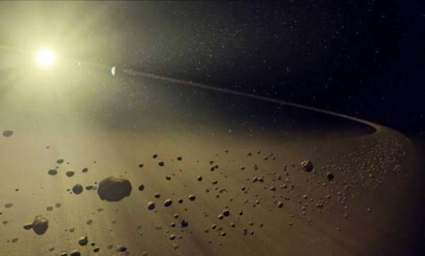 Космическая пыль с крыш домов позволяет узнать об эволюции планет