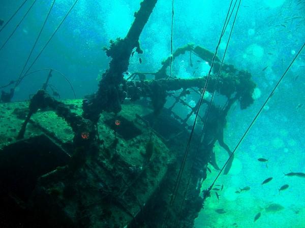 В прибрежных водах Севастополя найдено немецкое грузовое судно времен ВОВ
