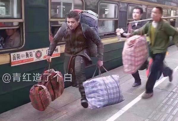 Звезды Голливуда интегрировались на китайские вокзалы