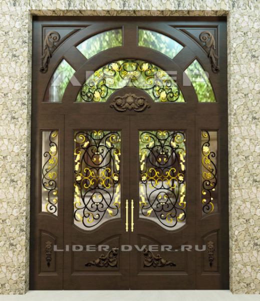 входные двери в коттедж со стеклом в москве недорого