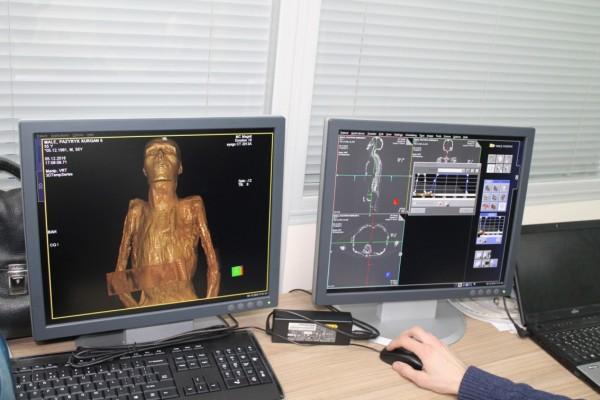 В Эрмитаже мумий исследуют при помощи рентгеновского томографа