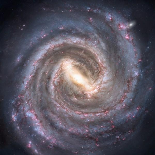 Звезды кольца Галактики вращаются «против правил»