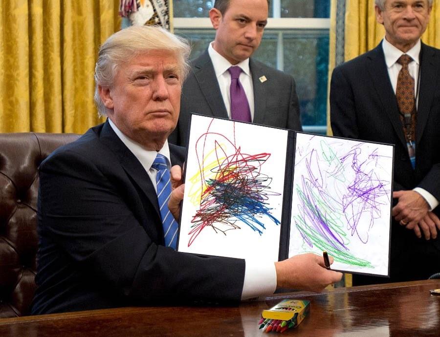 Мем сДональдом Трампом подорвал интернет