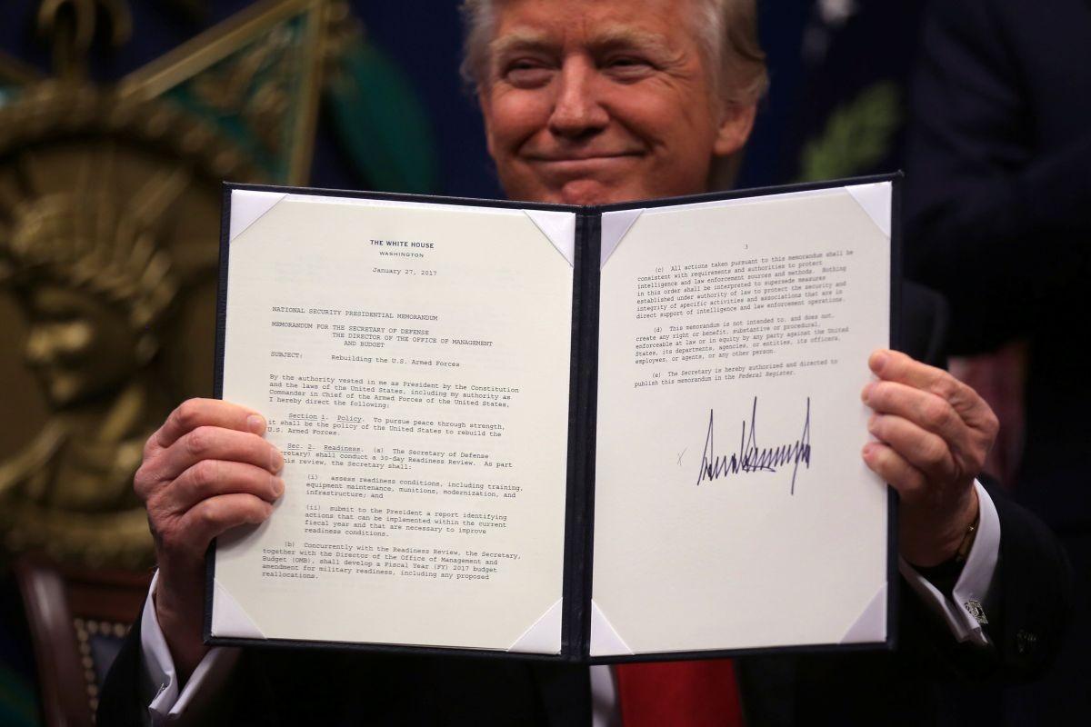 Трамп назвал главную цель запрета въезда вСША мигрантов-мусульман