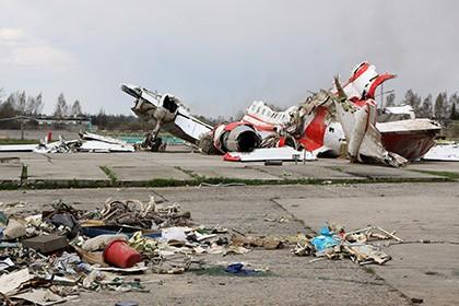 Польша подаст всуд на РФ из-за отказа вернуть обломки Ту-154