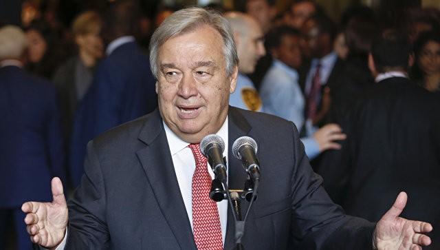 Генеральный секретарь ООН призвал Трампа отменить ограничения на заезд иностранцев вСША