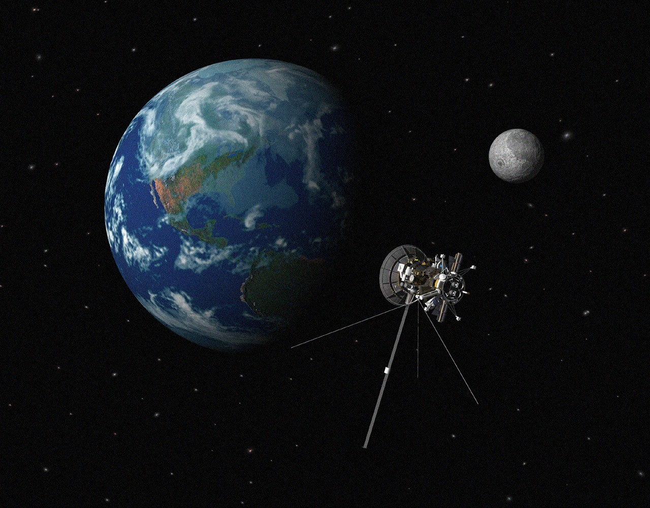 Томские ученые создают защиту откосмической радиации для спутников