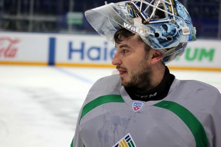 Вратарь «Салавата Юлаева» Гаврилов избежал перелома вматче соСКА