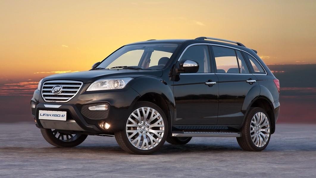 Лифан X60 стал лидером среди китайских машин в Российской Федерации