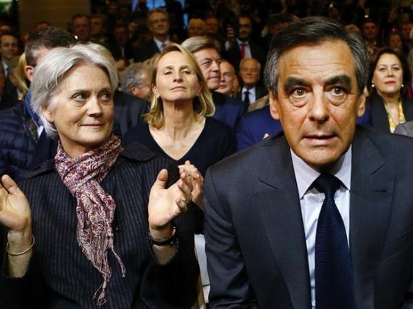 Вофранцузском Сенате прошли обыски Фийон, супруга идети