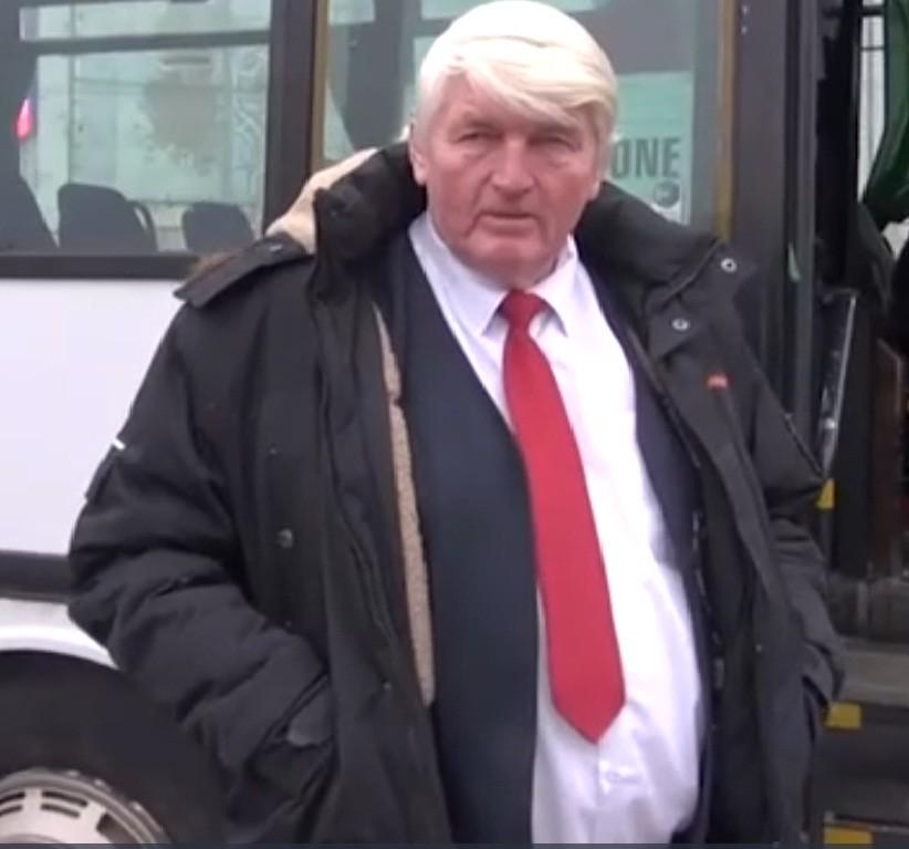 «Рижский Трамп» оказался водителем автобуса напенсии