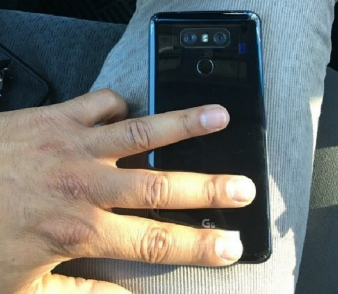 Настоящее изображениеLG G6: двойная камера истеклянный корпус