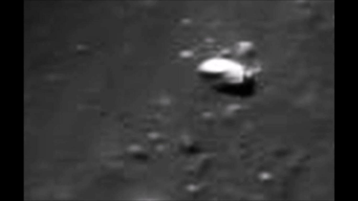 НаЛуне найдена перевалочная база инопланетян— Новый след НЛО