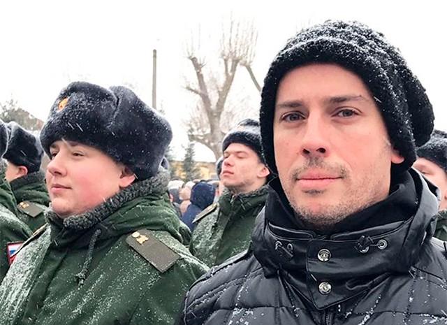 Максим Галкин приехал вВоронежскую область наприсягу кплемяннику