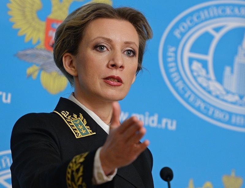 Захарова: Украина может поддерживать интерес ксебе только путем военных провокаций