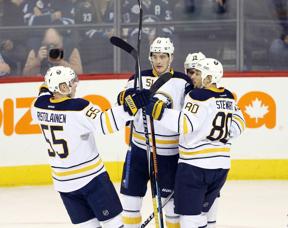 Американский хоккеист напал наНикиту Задорова впроцессе матча НХЛ