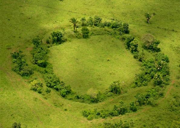 Уникальные орнаменты наземле— Бразильские геоглифы