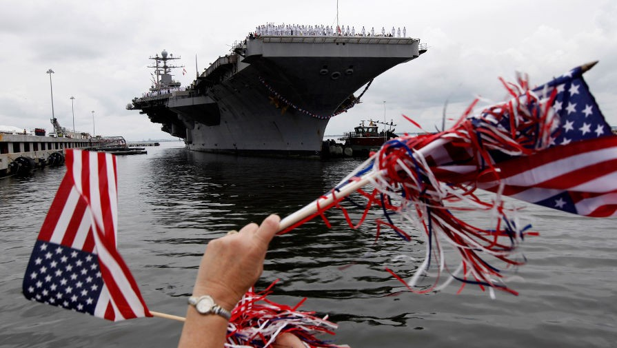 Флот США недалеко «уплыл» современ Первой мировой— Трамп