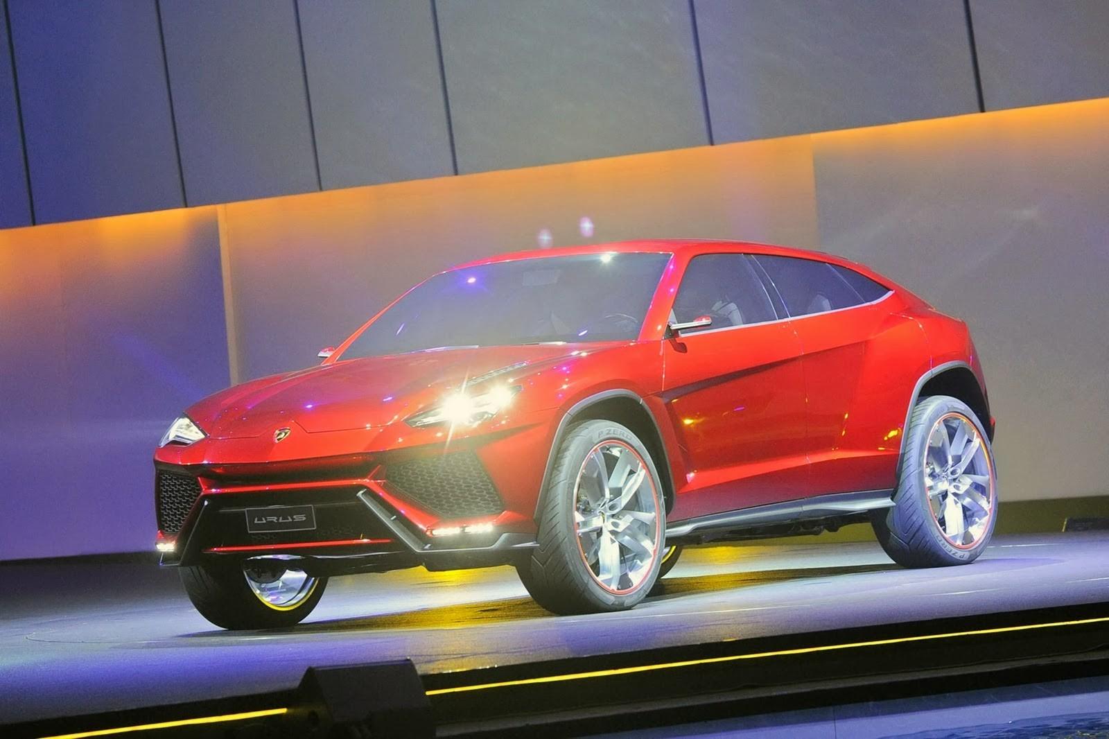 Производство Lamborghini Urus стартует ксередине весны